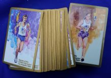 Collectible double deck. playing cards  Olympic Games 1984